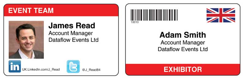 designing a better name badge conference badges personalised name