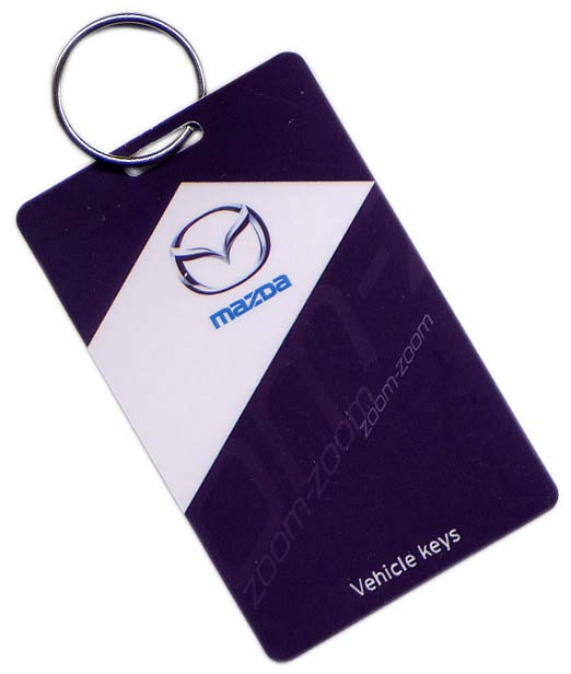 Key tags and promotional key rings - Conference Badges